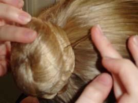 how to make a hair bun for ballet